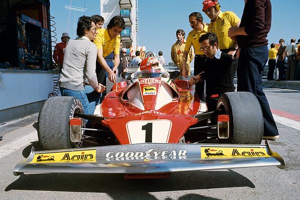 Ferrari「Niki Lauda, Daniele Audetto, Grand Prix Of Spain」:写真・画像(15)[壁紙.com]