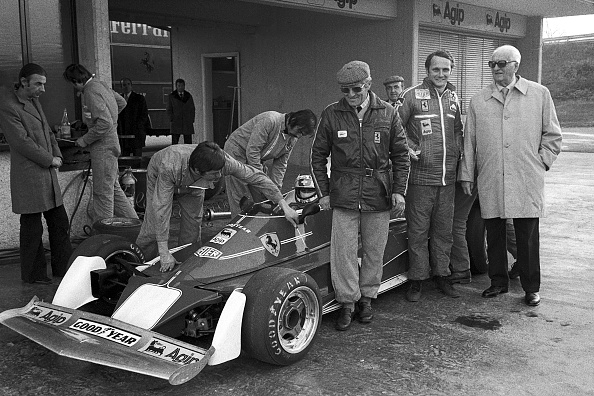 Ferrari「Niki Lauda, Mauro Forghieri」:写真・画像(13)[壁紙.com]
