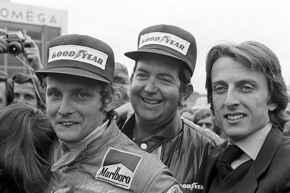Ferrari「Niki Lauda, Luca di Montezemolo, Ed Alexander, Grand Prix Of Spain」:写真・画像(13)[壁紙.com]