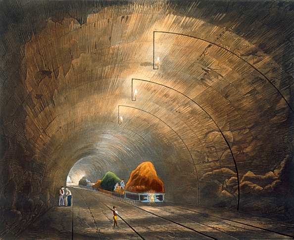 Transportation「The Tunnel' Liverpool And Manchester Railway 1833」:写真・画像(15)[壁紙.com]