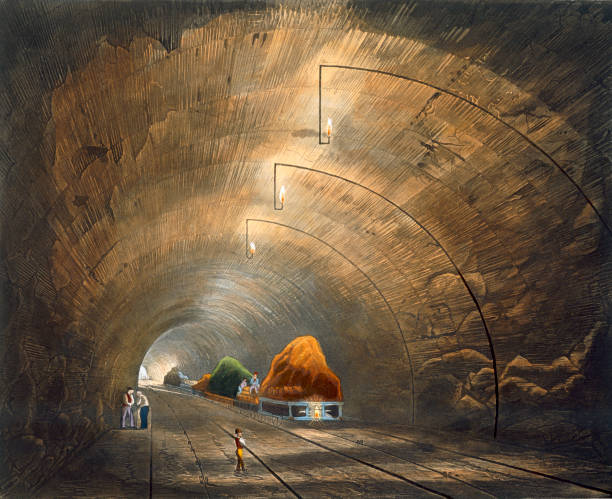 The Tunnel' Liverpool And Manchester Railway 1833:ニュース(壁紙.com)