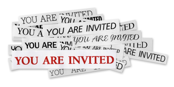 Party - Social Event「You are Invited」:スマホ壁紙(0)