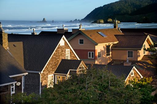 Cannon Beach「Scenic Cannon Beach Homes」:スマホ壁紙(5)