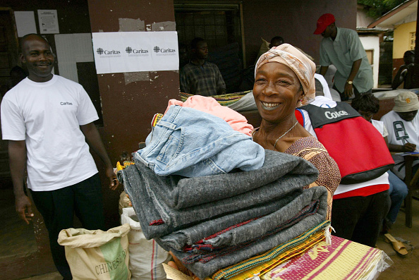 Bedding「Caritas Delivers Aid to Liberia's Displaced」:写真・画像(11)[壁紙.com]
