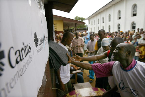 Bedding「Caritas Delivers Aid to Liberia's Displaced」:写真・画像(4)[壁紙.com]