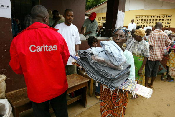 Bedding「Caritas Delivers Aid to Liberia's Displaced」:写真・画像(3)[壁紙.com]