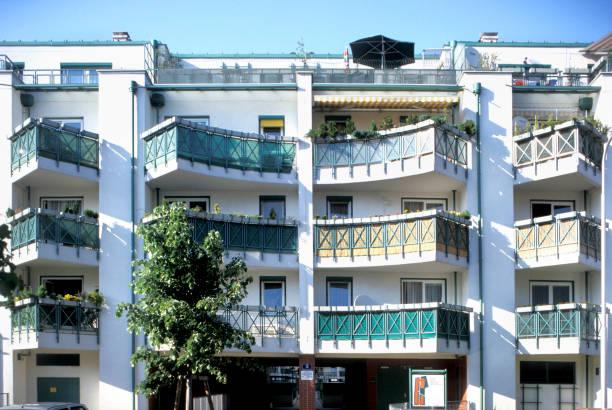 Austria, Vienna, modern municipal building:ニュース(壁紙.com)