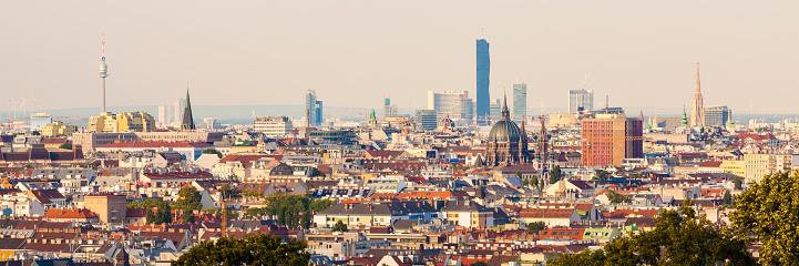 Austria「Austria, Vienna, cityscape, panorama」:スマホ壁紙(15)
