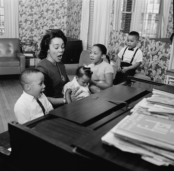 Coretta Scott King「Martin Luther King Jr.'s Family」:写真・画像(19)[壁紙.com]