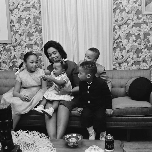 Coretta Scott King「Martin Luther King Jr.'s Family」:写真・画像(13)[壁紙.com]
