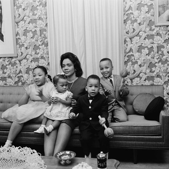 Coretta Scott King「Martin Luther King Jr.'s Family」:写真・画像(15)[壁紙.com]