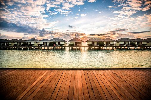 Bungalow「Maldivian bungalows」:スマホ壁紙(12)