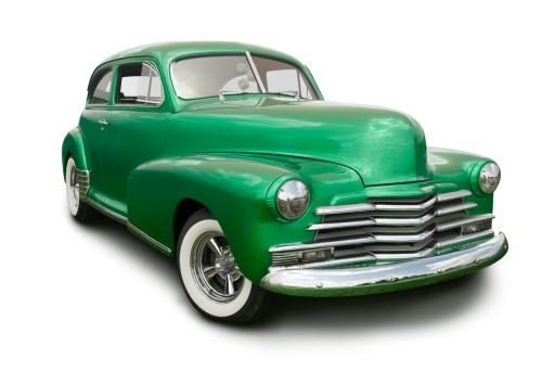 Hot Rod Car「Green Hot Rod」:スマホ壁紙(10)