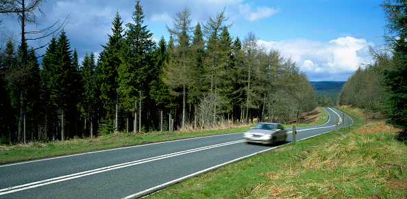 Motor Vehicle「Cheviott Hills, The Borders between England and Scotland」:写真・画像(9)[壁紙.com]