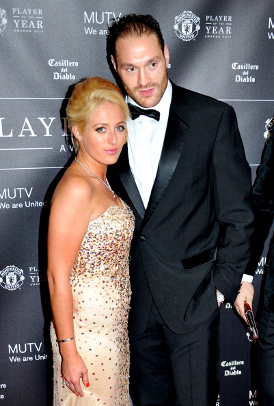 Tyson Fury「Manchester United Football Club Player Of The Year Awards - Red Carpet Arrivals」:写真・画像(5)[壁紙.com]