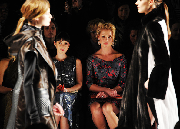 Katherine Heigl「J. Mendel - Front Row - Fall 2013 Mercedes-Benz Fashion Week」:写真・画像(9)[壁紙.com]