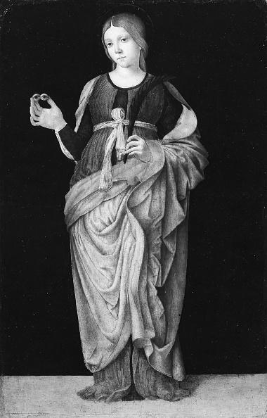 Religious Saint「Saint Lucy. Creator: Francesco Zaganelli.」:写真・画像(8)[壁紙.com]