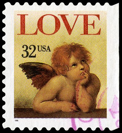 Cupid「ラファエルのサンシストの聖母 Love ケルビム」:スマホ壁紙(3)