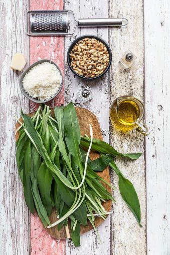 Pine Nut「Ingredients of ramson pesto」:スマホ壁紙(12)