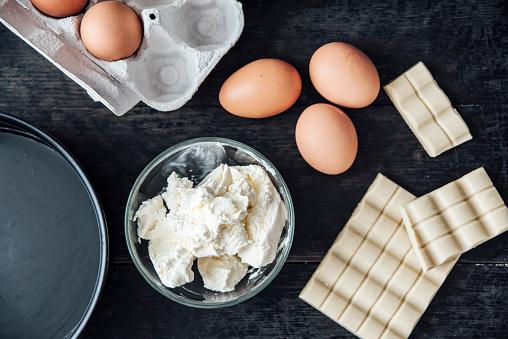 Chocolate Easter Egg「Ingredients of Japanese cheese cake」:スマホ壁紙(17)