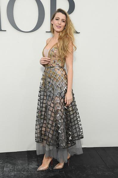 Blake Lively「Christian Dior : Photocall - Paris Fashion Week Womenswear Spring/Summer 2019」:写真・画像(9)[壁紙.com]