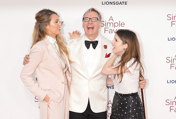 映画監督「'A Simple Favour' UK Premiere - Red Carpet Arrivals」:写真・画像(5)[壁紙.com]