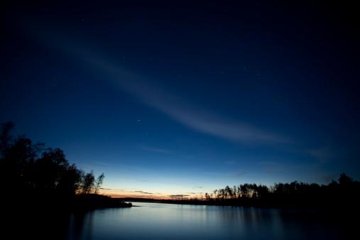 Dramatic Landscape「Whiteshell Provincial Park at sunset 」:スマホ壁紙(9)