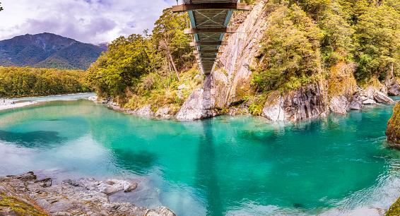 Mt Aspiring「Makarora River, South Island, New Zealand」:スマホ壁紙(9)