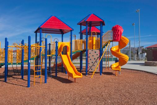 公園「色鮮やかなプレイグラウンド」:スマホ壁紙(3)