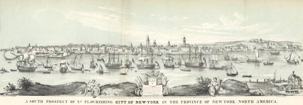 Colonial Style「View Of Colonial Lower Manhattan」:写真・画像(3)[壁紙.com]