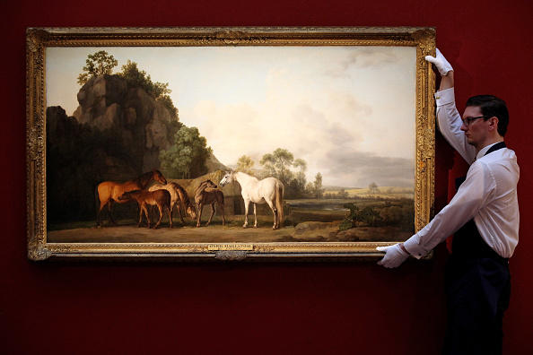 Painting - Activity「Highlights From Sotheby's Old Master And British Paintings And Drawings Are Exhibited」:写真・画像(14)[壁紙.com]