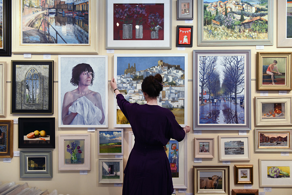 Art Museum「NOT The Royal Academy Exhibition Displays Work Rejected For The Summer Exhibition」:写真・画像(7)[壁紙.com]