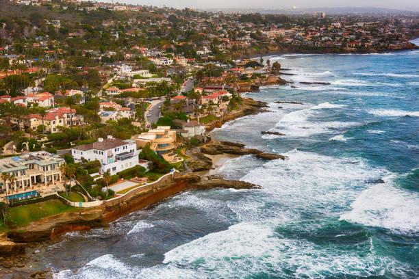 サンディエゴの豪華な海辺の家:スマホ壁紙(壁紙.com)
