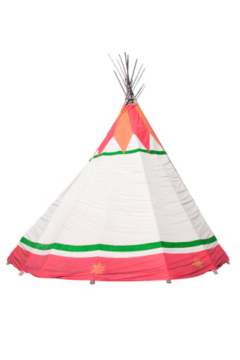 Indigenous Culture「Indian tent teepee」:スマホ壁紙(11)