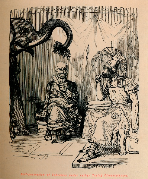 Cartoon「Self-Posession Of Fabricius Under Rather Trying Circumstances」:写真・画像(14)[壁紙.com]