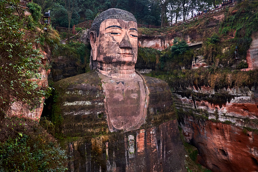 UNESCO「giant Buddha of Leshan」:スマホ壁紙(5)