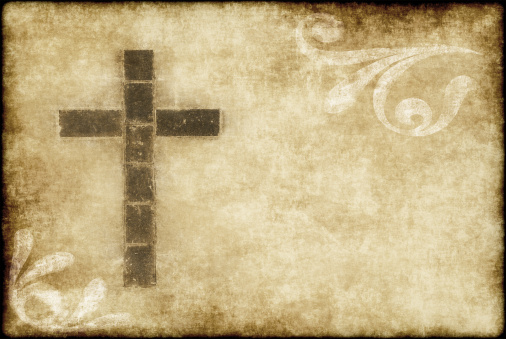 Manuscript「christian cross on parchment」:スマホ壁紙(13)