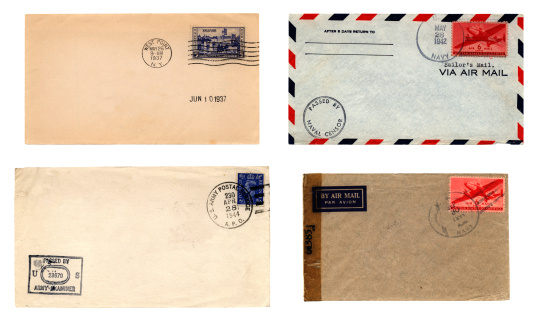 World War II「US Army and Navy envelopes」:スマホ壁紙(12)