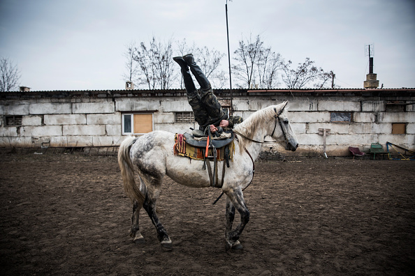 Cossack「Conflict In Eastern Ukraine Takes Its Toll On Donetsk Region」:写真・画像(8)[壁紙.com]