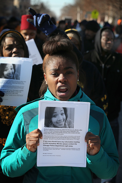 Scott Olson「Anti-Gun Violence March Held From School To Park Where Teenage Girl Killed Earlier In Week」:写真・画像(16)[壁紙.com]