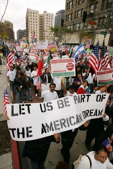 Teenager「Students Rally To Protest Immigration Legislation」:写真・画像(9)[壁紙.com]