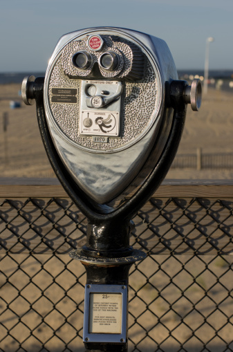 オーシャンシティー「Viewing machine on the Ocean City MD boardwalk.」:スマホ壁紙(15)