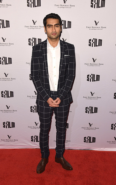 Checked Suit「SFFILM's 60th Anniversary Awards Night - Arrivals」:写真・画像(8)[壁紙.com]