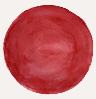 Rusty「Grungy Red Circle Frame」:スマホ壁紙(10)