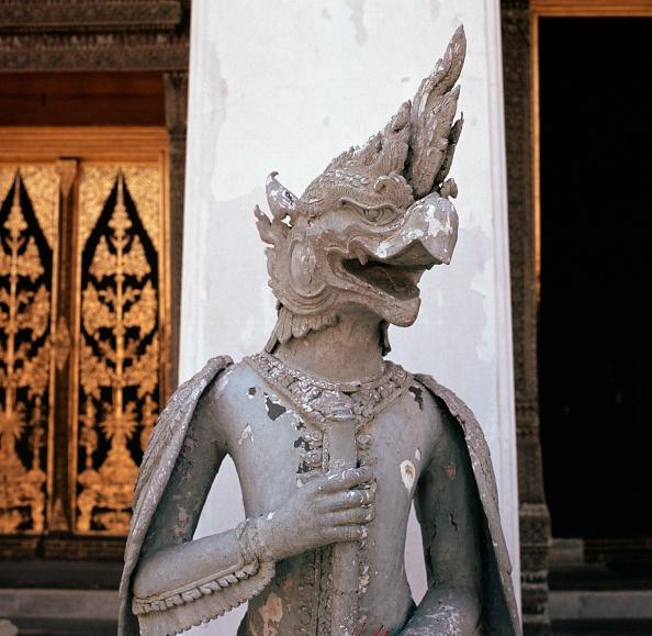 Beak「Thai temple guardian at a temple doorway.」:写真・画像(15)[壁紙.com]