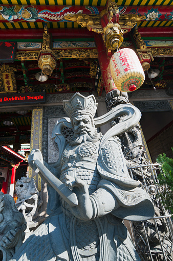 Chinese Lantern「Temple guard at Chinese temple」:スマホ壁紙(19)