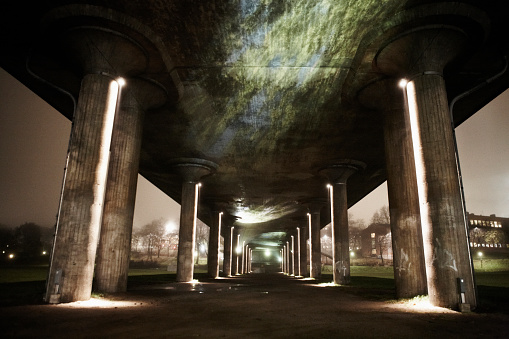 Viaduct「Underneath Highway Viaduct, Sweden」:スマホ壁紙(8)