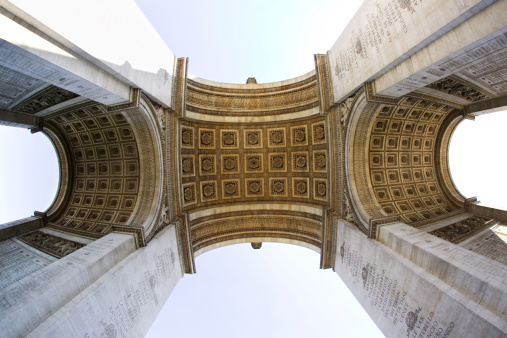 Arc de Triomphe - Paris「Underneath the Arc de Triomphe, Paris」:スマホ壁紙(18)