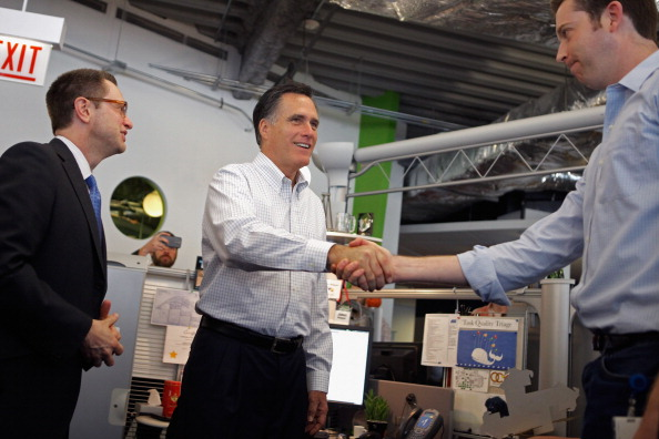 Willy Robinson「Mitt Romney Campaigns In Illinois On Day Of State's Primary」:写真・画像(4)[壁紙.com]
