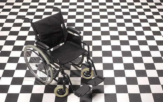 A Helping Hand「Empty wheelchair ready and waiting in ER」:スマホ壁紙(4)